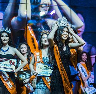 Самый долгожданный момент вечера — победительницей объявлена 17-летняя Айзирек Мыктыбекова