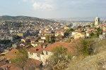 Вид на город Кастамону в северной Турции. Архивное фото