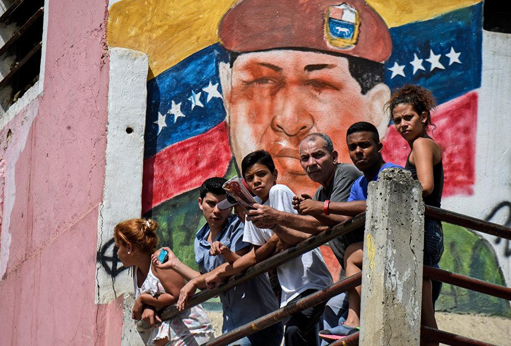 Граффити на улицах Каракаса