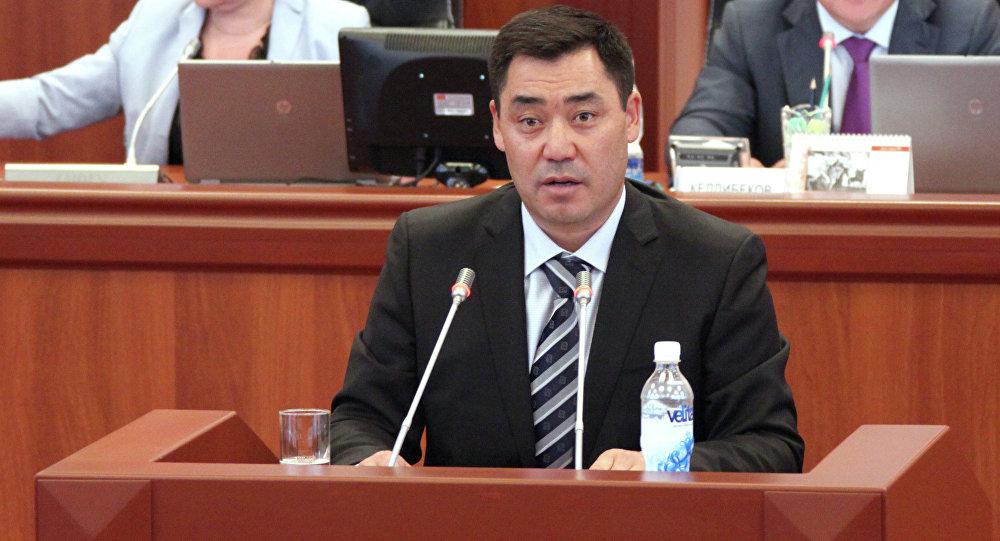 Экс-депутат Садыр Жапаровдун архивдик сүрөтү