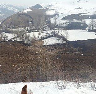 Өзгөн районунун Топ-Жаңгак участкасында болгон жер көчкүнүн кесепети