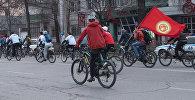 Бишкектеги велосезондун ачылышы 1500 киши катышты