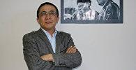 Кыргыз-Түрк Манас университетинин журналистика кафедрасынын башчысы, журналист Бакыт Орунбеков