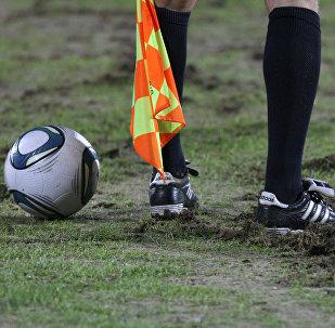 Футбол калысы. Архивдик сүрөт