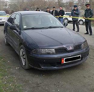 Милициянын подполковниги Таирбек Уларовдун денеси табылган автоунаа