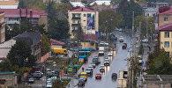 Город Цхинвал в Южной Осетии. Архивное фото