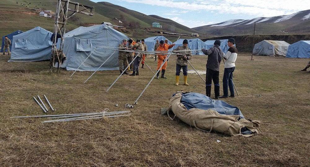 Палатка. Архивдик сүрөт