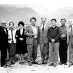 Висцериалдык физиология системалар жана адаптация процесси семинарынын катышуучулары. 1979-жыл, Чолпон-Ата