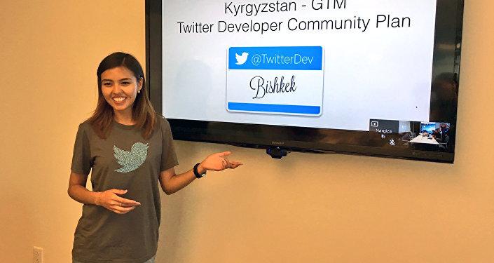 Наргиза Абдубалиева Twitter компаниясында стажировкадан өтөп деп эч ойлобогонун айтат