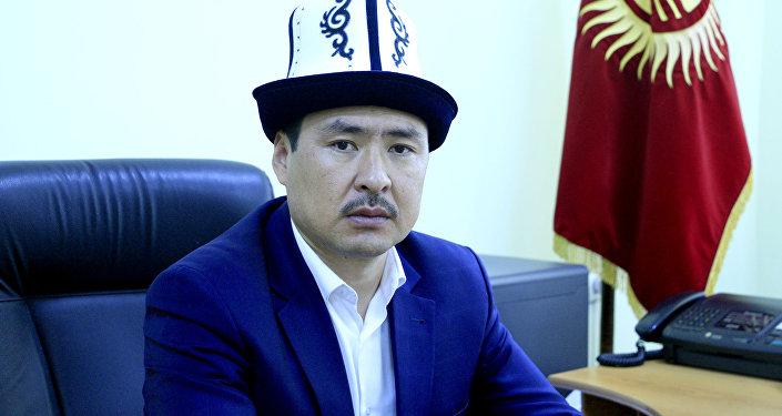 Ректор Исламского университета Кыргызстана Марс Ибраев