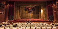 Сцена государственного национального русского театра драмы имени Чингиза Айтматова. Архивное фото