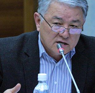 Ата Мекен партиясынан экс-депутат Райкан Төлөгөновдун архивдик сүрөтү