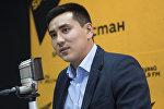 Бишкек шаардык кеңешинин төрагасы болуп дайындалган Жаныбек Абиров. Архив