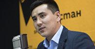 Назначенный председателем Бишкекского городского кенеша Жаныбек Абиров. Архивное фото