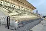 Состояние ипподрома Ак-Кула в городе Бишкек. Архивное фото