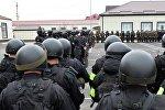 Военнослужащие федеральной службы войск национальной гвардии России (Росгвардии). Архивное фото