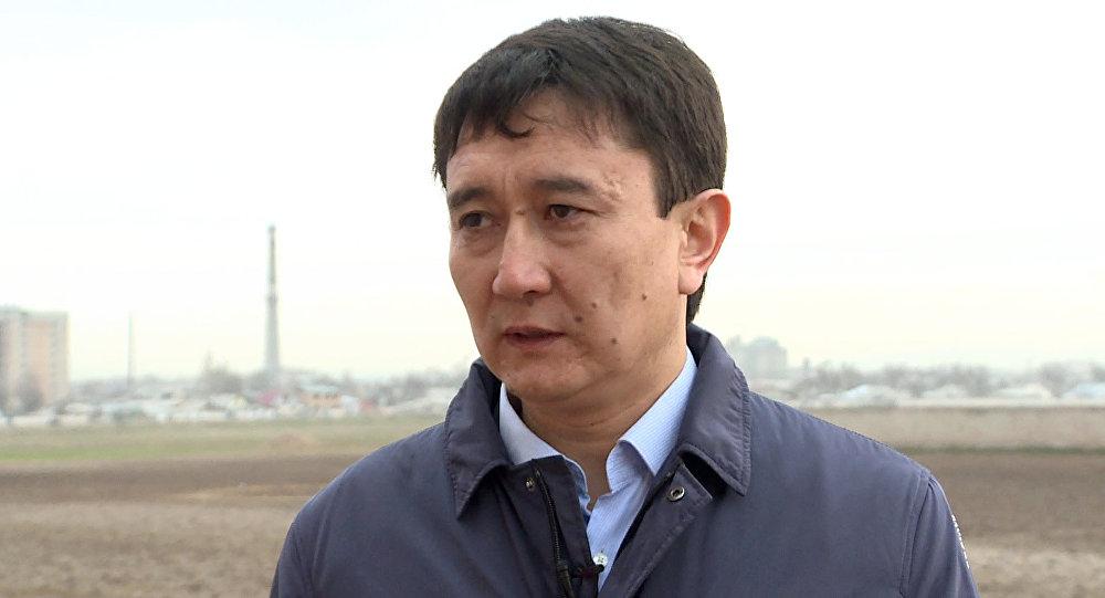 Начальник управления муниципальной собственности мэрии города Бишкек Султан Омуров