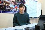 Бишкек шаардык спорт комитетинин маалымат катчысы Жанар Усенов. Архив