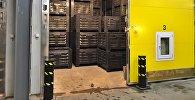 Балыкчы шаарында Оберон ЖЧКсынын жер-жемиш сактаган ири логистикалык борбору ачылды
