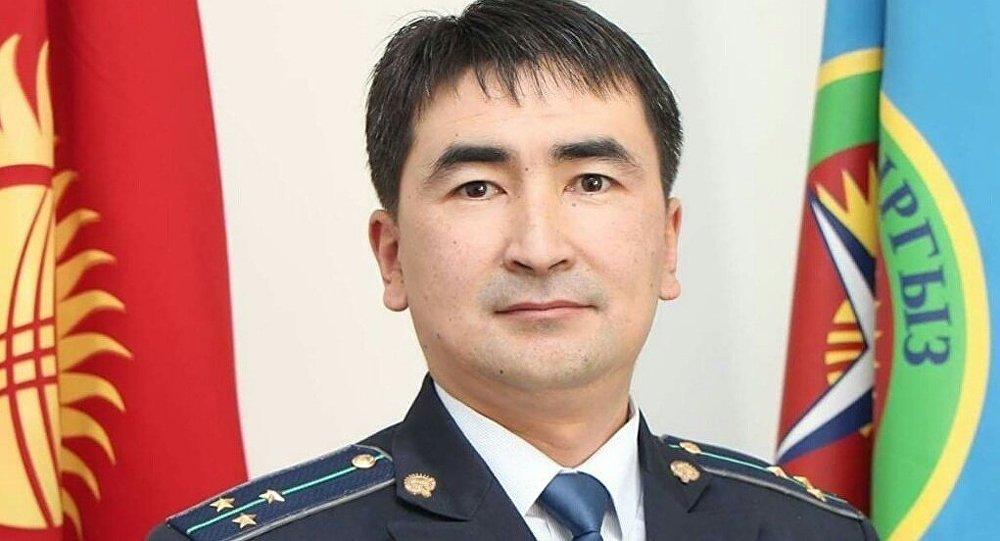 Пресс-секретарь Государственной таможенной службы КР Жаманак Мусурканов. Архивное фото