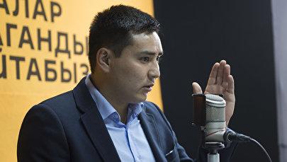 Депутат Жаныбек Абировтун архивдик сүрөтү
