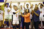 Кыргызстандын волейбол боюнча курама командасы алгачкы жолу Борбордук зонадагы Азия чемпионатынын кубогун жеңип алышты