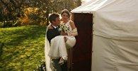 Проведение свадебных мероприятий в юртах в Великобритании. Архивное фото