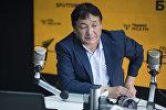 Астролог Жанар Кадыралиев маек учурунда
