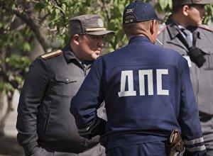 Сотрудники ДПС и правоохранительных органов. Архивное фото