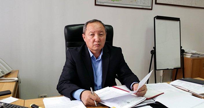Первый заместитель генерального директора ОАО Электрические станции Бердибек Боркоев