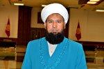 Архивное фото верховного муфтия Кыргызстана Максат ажы Токтомушева