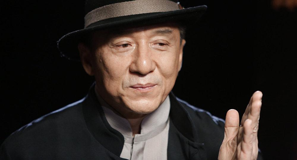 Кытайлык белгилүү голливуд актеру Жеки Чан. Архивдик сүрөтү