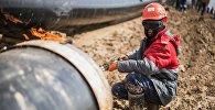 Бухара газ аймагы — Ташкент — Бишкек — Алматы магистралдык газ түтүгүн куруу иштери