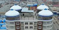 Пентхаус в виде четырех юрт на крыше 12-этажки в Оше