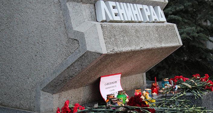 Участники акции памяти по погибшим в результате взрыва в метрополитене Санкт-Петербурга. Архивное фото