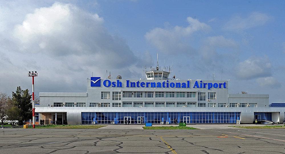 Здание международного аэропорта в городе Ош. Архивное фото