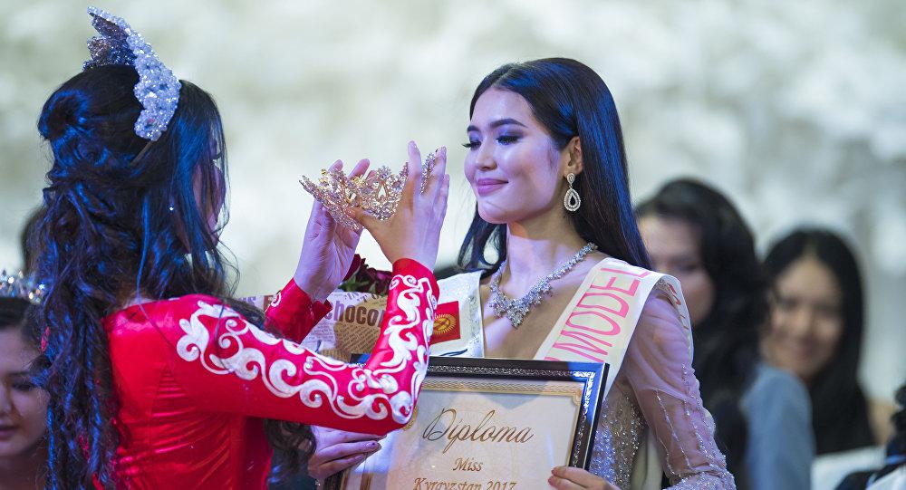 Титул Мисс Кыргызстан — 2017 завоевала 18-летняя Бегимай Карыпбек кызы