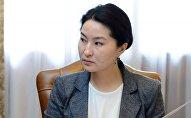 Архивное фото бывшего генерального прокурора Индиры Джолдубаевой