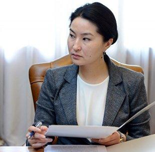 Индира Джолдубаева. Архивное фото