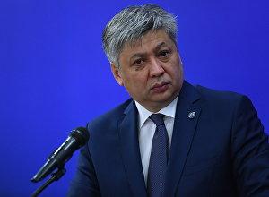 Кыргызстандын тышкы иштер министри Эрлан Абдылдаевдин архивдик сүрөтү