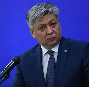 Архивное фото главы МИД КР Эрлана Абдылдаева