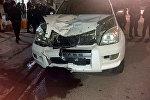 Автонаезд на мужчину на джипе Toyota Prada произошёл на пересечении улиц Льва Толстого и Фатьянова.