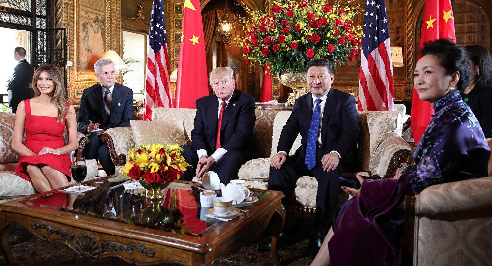 Image result for трамп Си Цзиньпин