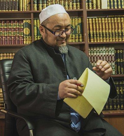 Религиозный деятель Чубак ажы Жалилов. Архивное фото