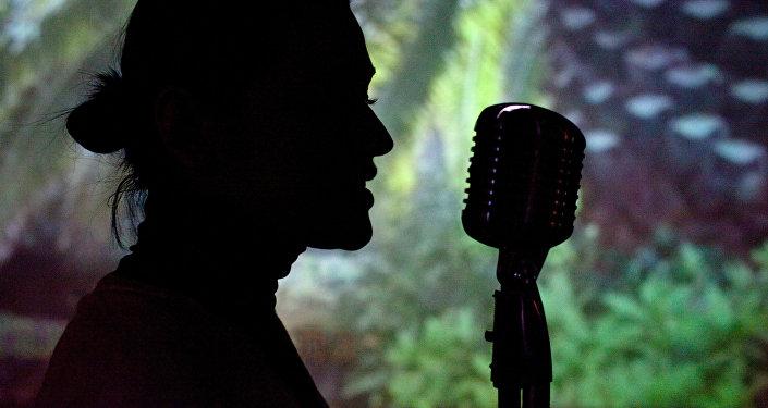 Певица. Архивное фото