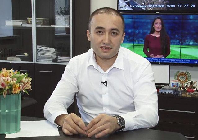 Генеральный директор ОТРК Илим Карыпбеков