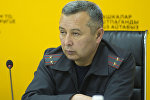 КРдин Кайгуул милиция башкы башкармалыгынын ага тескөөчүсү Ахмед Нурмамбетов
