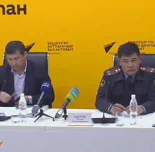 О штрафах за нарушение ПДД рассказали в пресс-центре Sputnik Кыргызстан