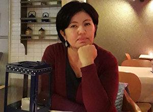 Борбор Азия программасынын жетекчиси, конфликтолог жана журналист Чолпон Орозобекованын архивдик сүрөтү