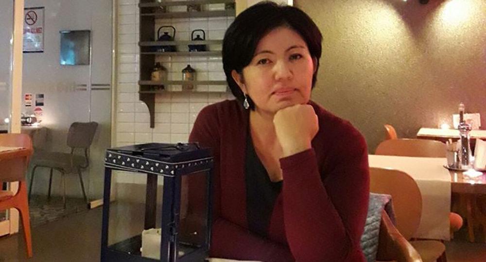 Журналист, эксперт по международным отношениям Чолпон Орозобекова